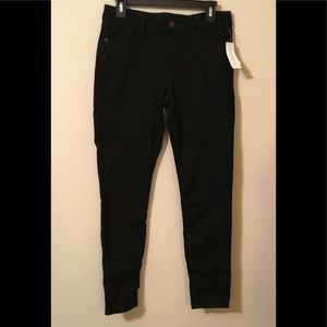 Old Navy Rockstar Super Skinny Black Jeans Sz 10